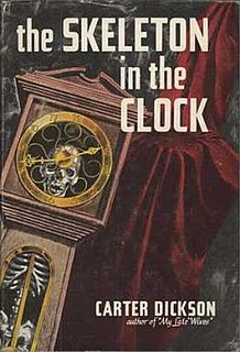 <i>The Skeleton in the Clock</i> book by John Dickson Carr