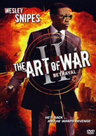 The Art of War II: Betrayal - DVD cover