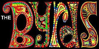 The Byrds - The Byrds' psychedelic mosaic logo