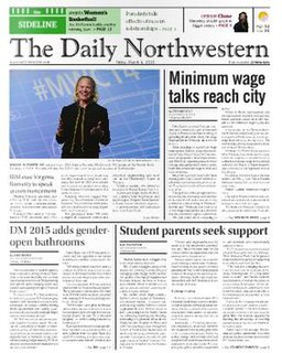 <i>The Daily Northwestern</i> newspaper in Evanston, Illinois