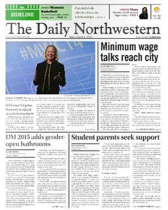 The Daily Northwestern - Image: The Daily Northwestern cover