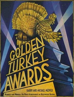 The Golden Turkey Awards - Cover art.
