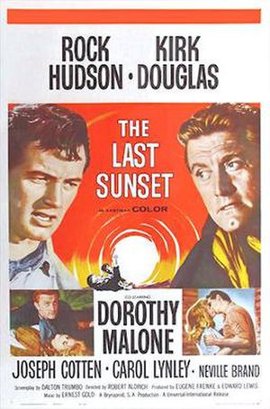 The Last Sunset (film) - Theatrical poster