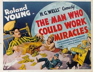The Man Who Could Work Miracles - Image: The Man Who Could Work Miracles film poster
