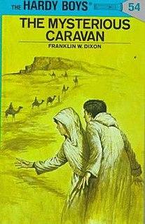 <i>The Mysterious Caravan</i> book by Franklin W. Dixon