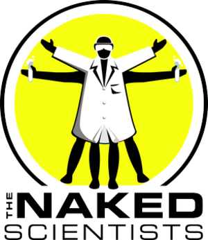 The Naked Scientists - Image: The Naked Scientists, logo