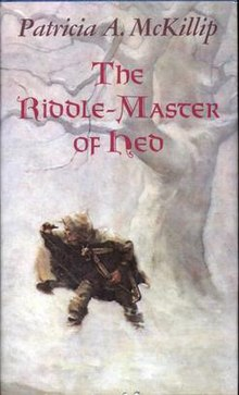 The Riddle-Master of Hed - First Edition Hardcover - Book Cover.jpg