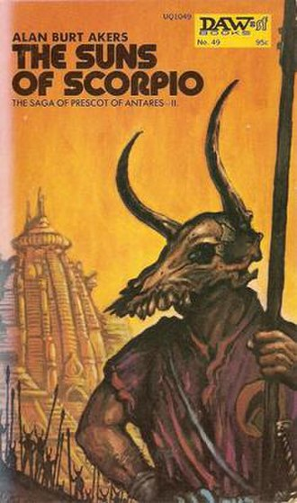 The Suns of Scorpio - Cover of first edition