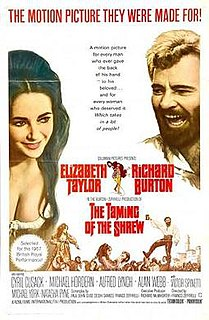 <i>The Taming of the Shrew</i> (1967 film) 1967 film by Franco Zeffirelli