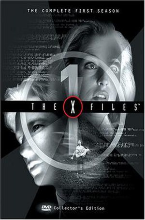 The X-Files (season 1) - DVD cover