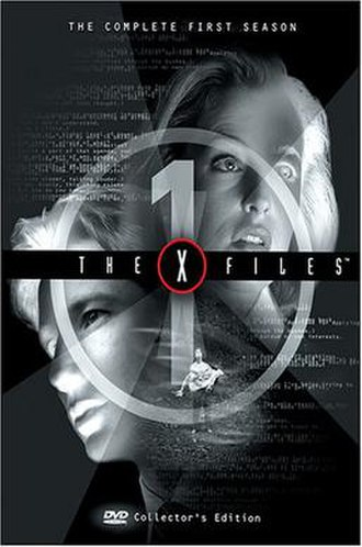 The X-Files (season 1) - DVD cover