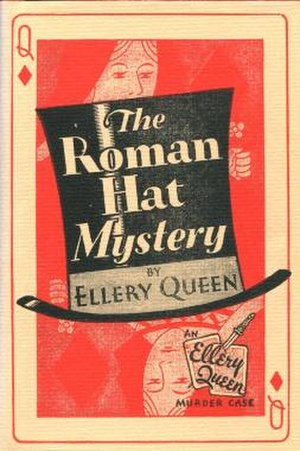 The Roman Hat Mystery - First edition cover (US)