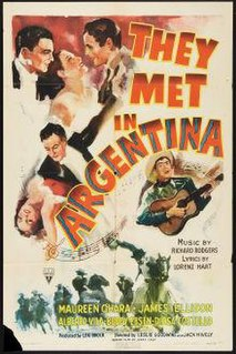 <i>They Met in Argentina</i> 1941 film by Leslie Goodwins
