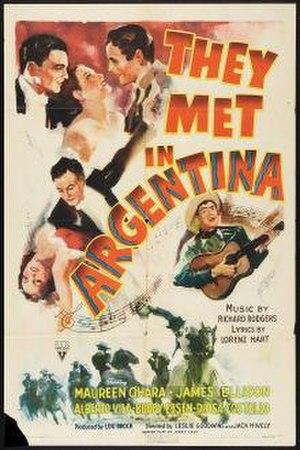 They Met in Argentina - Image: They Met in Argentina