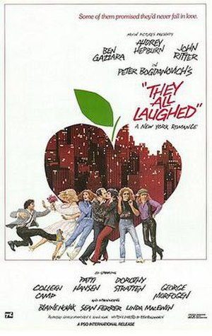 They All Laughed - Promotional poster for They All Laughed