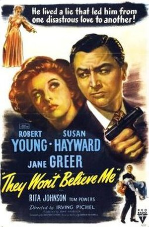 They Won't Believe Me - Theatrical release poster