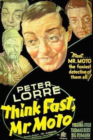 Think Fast, Mr. Moto - Image: Think Fast, Mr. Moto Film Poster