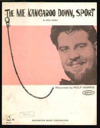 Tie Me Kangaroo Down, Sport - Tie Me Kangaroo Down, Sport sheet music cover