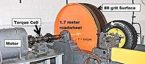 Low rolling resistance tire - (SAE J1269 and SAE J2452) performed on new tires.