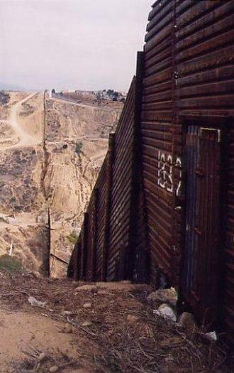 Tortilla Wall - The Tortilla wall