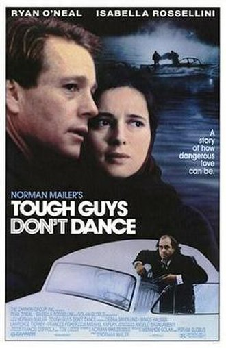 Tough Guys Don't Dance (film) - Theatrical release poster