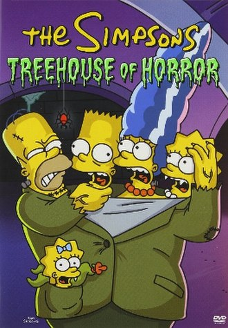 "Treehouse of Horror - Cover of a DVD collection of ""Treehouse of Horror"" episodes"
