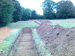Trial trenching - Archaeological trial trenches