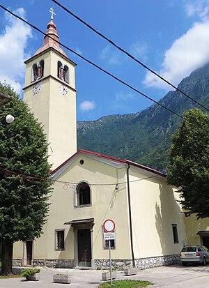 Trnovo ob Soči - Holy Trinity Church