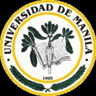 Universidad de Manila - Image: Universidad de Manila Logo