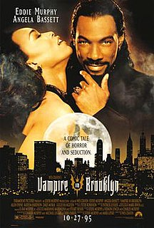 <i>Vampire in Brooklyn</i> 1995 American comedy horror film by Wes Craven