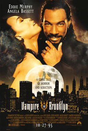 Vampire in Brooklyn - Theatrical release poster