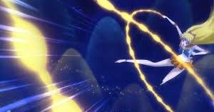 Sailor Venus - Sailor Venus using Venus Love-Me Chain in Sailor Moon Crystal.