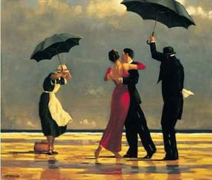 Jack Vettriano - The Singing Butler.