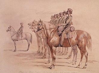 Australian native police - Native Police of Port Phillip, 1850