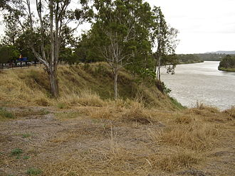Goodna, Queensland - View of Brisbane River from Richardson Park in Goodna.