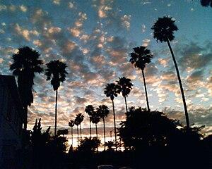 View Park–Windsor Hills, California - View Park sunset view