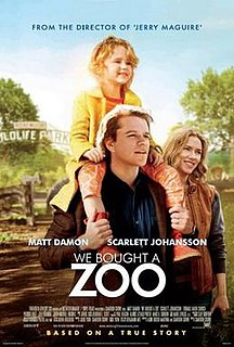 <i>We Bought a Zoo</i> 2011 film by Cameron Crowe
