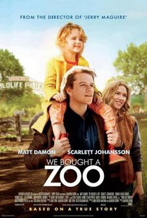 We Bought a Zoo - Theatrical release poster