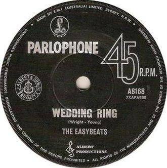 Wedding Ring (song) - Image: Wedding ring cover easybeats