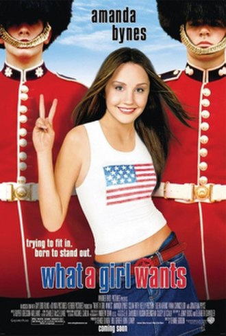 What a Girl Wants (film) - Original theatrical poster