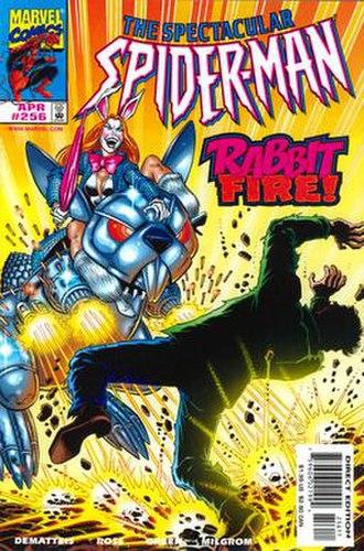 White Rabbit (comics) - Image: White Rabbit Marvel