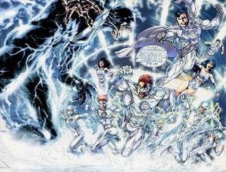 White Lantern Corps - White Lanterns