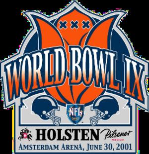 World Bowl IX - Image: World Bowl IX logo