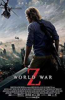 <i>World War Z</i> (film) 2013 film directed by Marc Forster