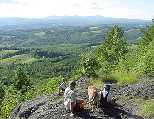 Bradford, Vermont - View from Wright's Mountain