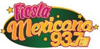 XHPA-FM - Image: XHPA Fiesta Mexicana 93.7 logo