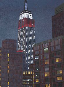 Yvonne Jacquette, Empire State Building II, 2009.jpg