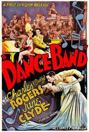 Dance Band - U.S. theatrical poster