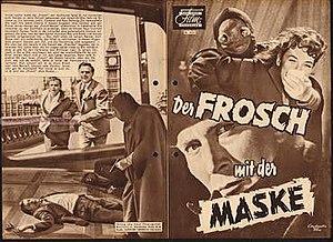 """Der Frosch mit der Maske - Image: """"Der Frosch mit der Maske"""" (1959)"""