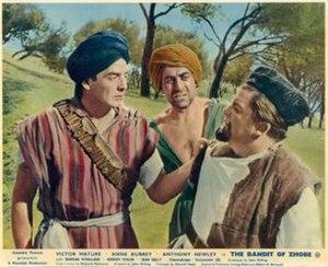 The Bandit of Zhobe - Original British lobby card